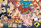 XXX Family Guy VS American Dad Hentai!