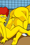 simpsons hentai gina, the simpsons orgy hentai, the simpsons xxx